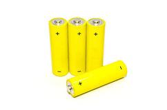 gelbe-batterie-auf-dem-weißen-hintergrund-getrennt-28373633.jpg